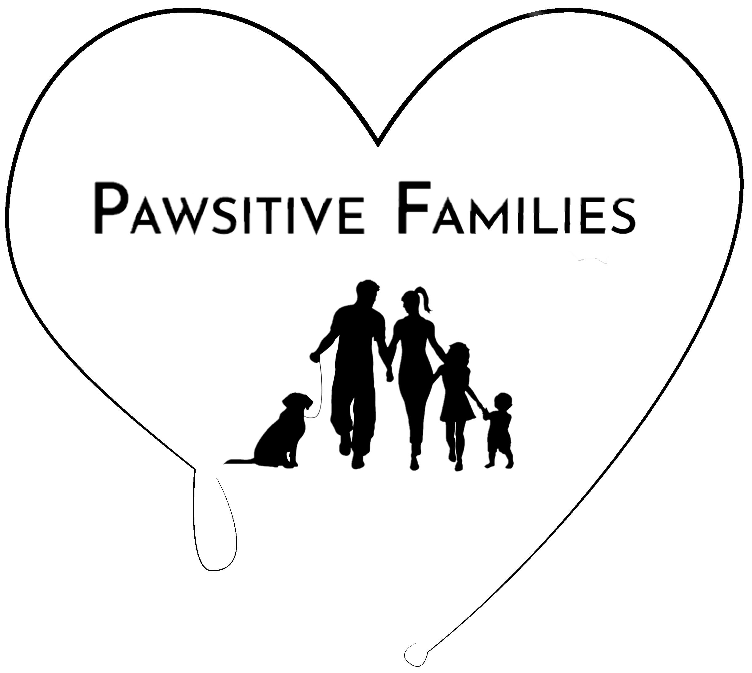 Pawsitive Families Logo